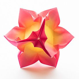 Find out how to make a stunning paper ball with only 6 squares of paper!