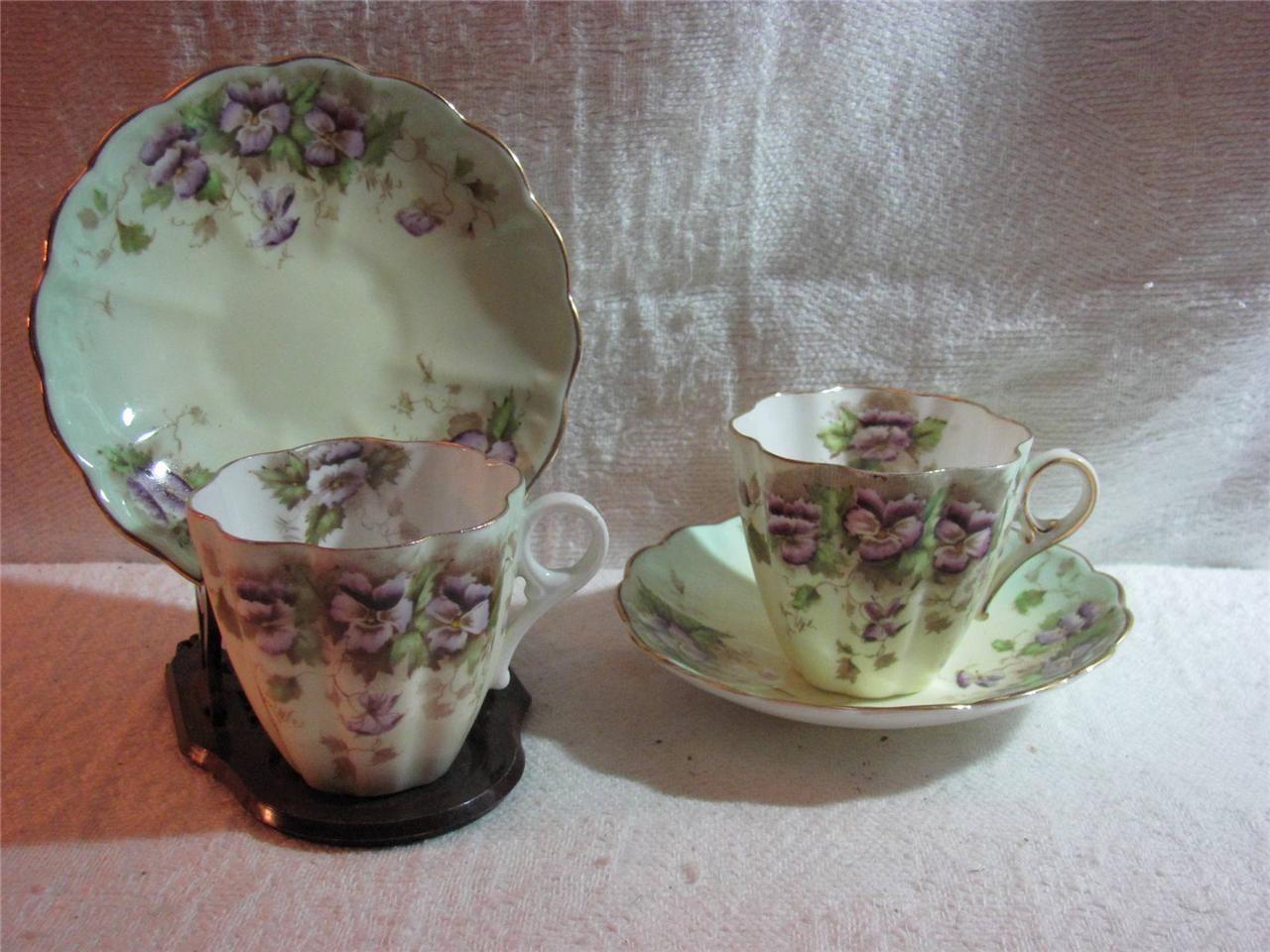 Royal albert bone china tea cup amp saucer winsome pattern ebay - Teacup