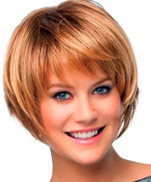 Frisuren für Bobs: dickes Haar und feines Haar., Kurze Bob Frisur für feines Haar #shortlayers