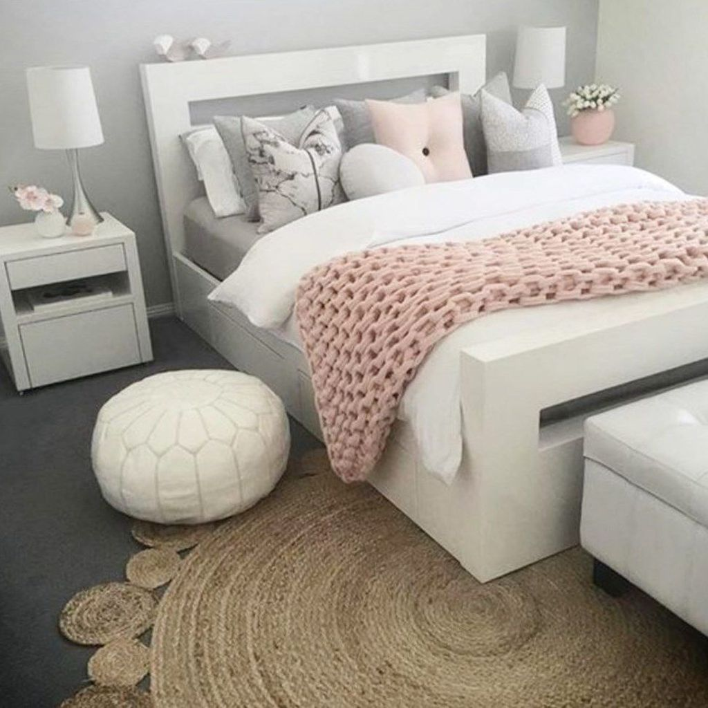 Pink Girly Bedroom Accessories: 45 Cute And Girly Pink Bedroom Design For Your Home