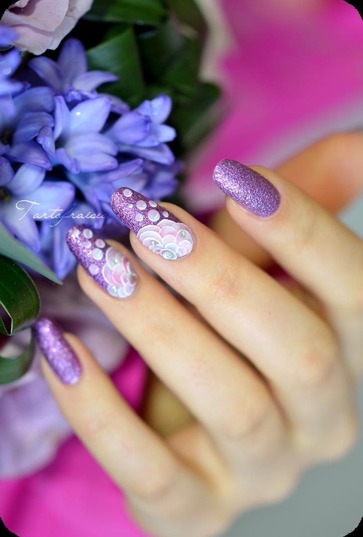 кирпичном доме ногти нарощенные фиолетовые картинки для его
