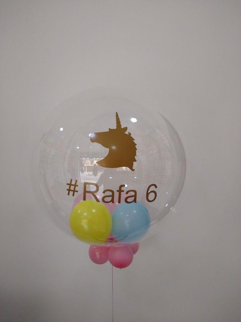 Balao Personalizado De Unicornio Baloes Personalizados Balao De