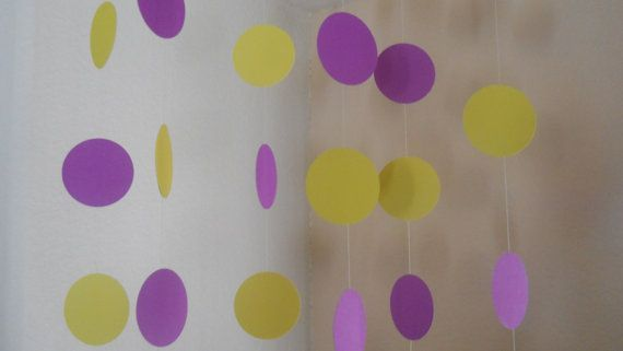 Radiant Orchid and Canary Yellow Garland  https://www.etsy.com/listing/178071577/radiant-orchid-canary-yellow-circle?ref=shop_home_active_14