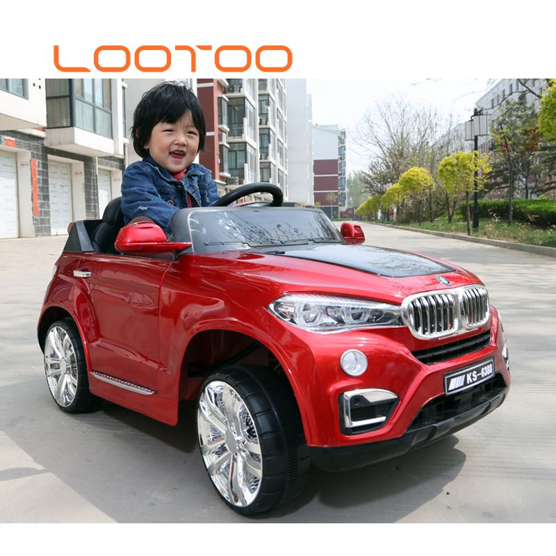 6v4 52 Kids Electric Vehicle Children Toys 4 Wheel Ride On Car With Light 2018 Electric Toy Car For Big Kids