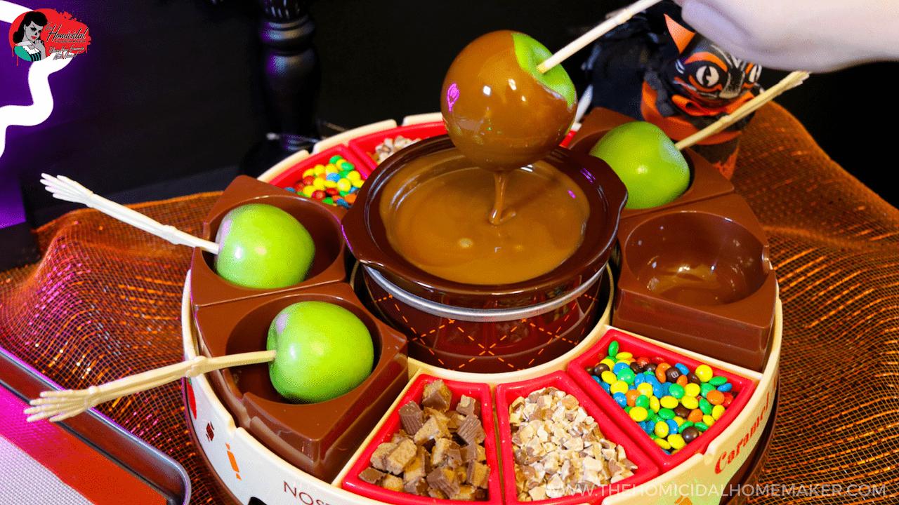 Perfect SCAREamel Apples with Nostalgia Electrics Caramel