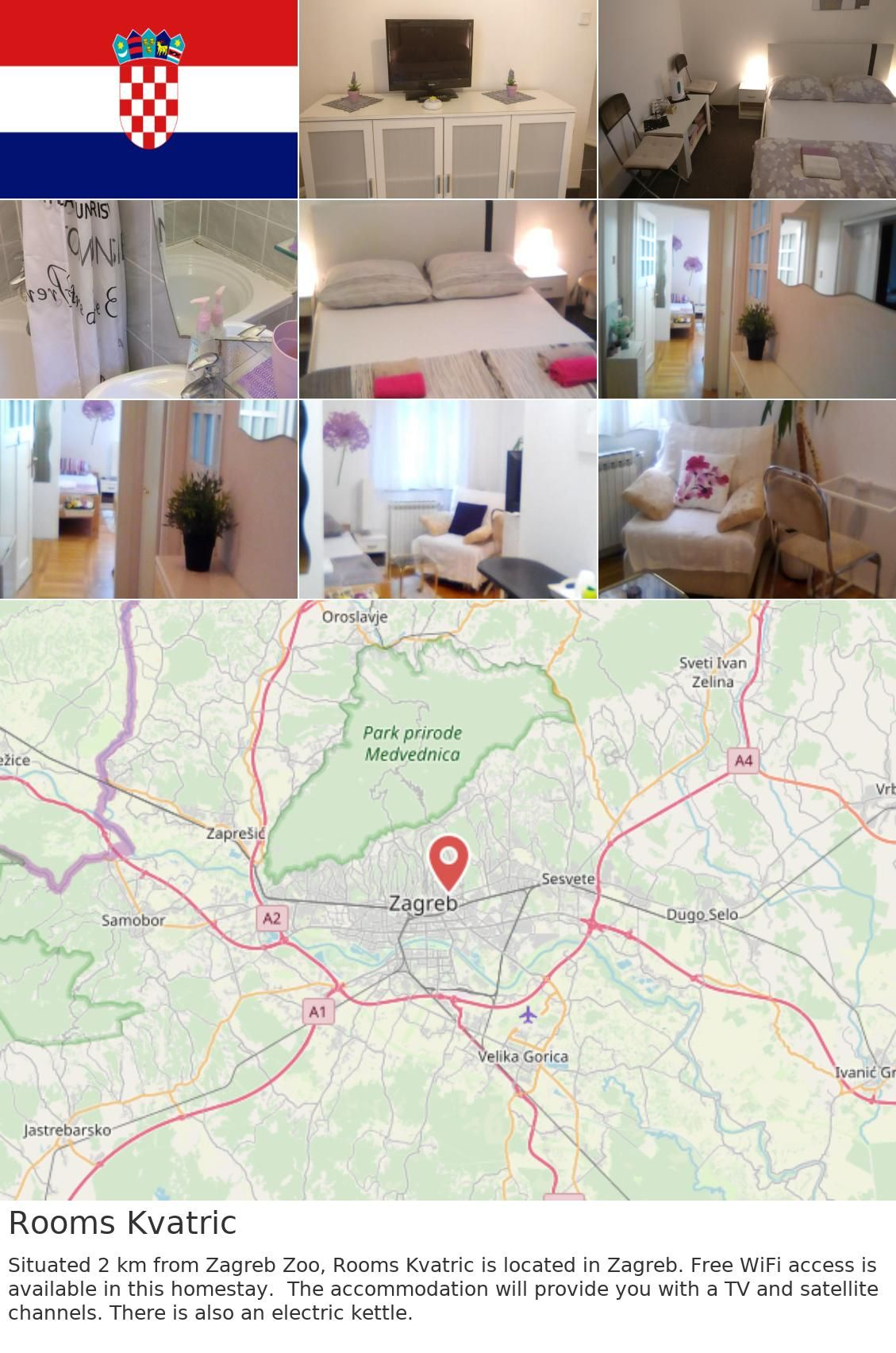 Europe Croatia Zagreb Rooms Kvatric Situated 2 Km From Zagreb Zoo Rooms Kvatric Is Located In Zagreb Free Wifi Access Is Available In This Homestay The