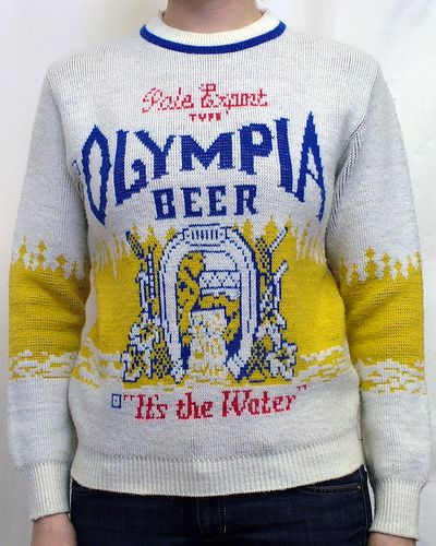 olympia beer t shirt hot stuff sweaters beer shirts beer. Black Bedroom Furniture Sets. Home Design Ideas