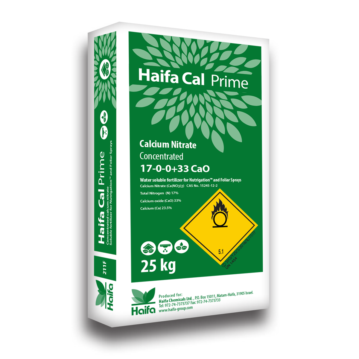 Haifa Cal - Calcium Nitrate Fertilizer   Haifa products