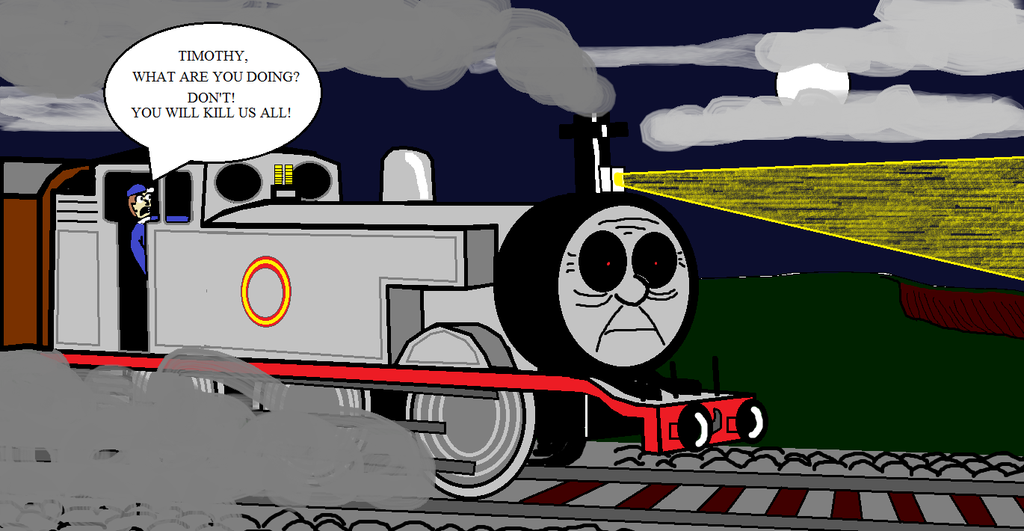 Ghost Train: The untold story of Timothy by LewisDaviesPictures on