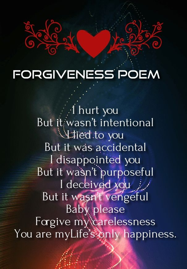 forgive me poems for her romantic poems for her