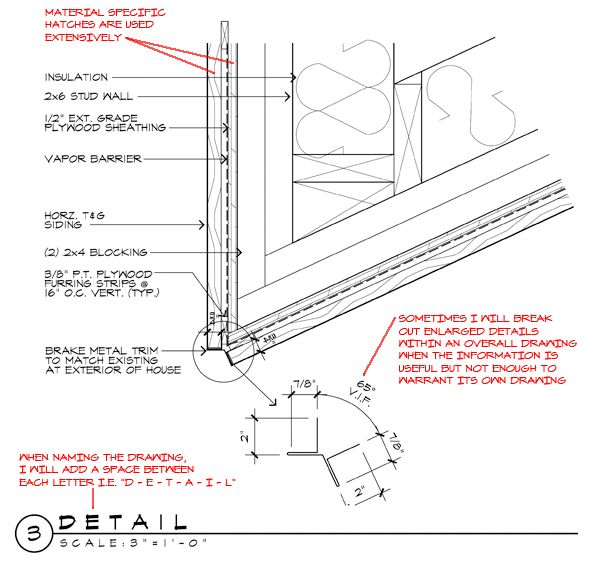 Architectural Drawing Font wood siding vent detail - architectural graphics standards