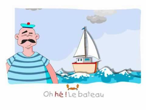 Henri Des Chante Ohe Le Bateau Youtube French Classroom French Songs Ocean Animals