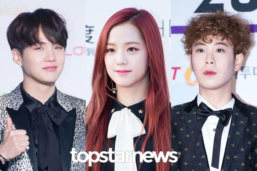 [HD테마] 리본으로 목장식한 스타들 방탄소년단-블랙핑크-블락비 #topstarnews