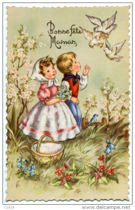 Postcards > Topics > Holidays & Celebrations > Mother's day - Delcampe.net