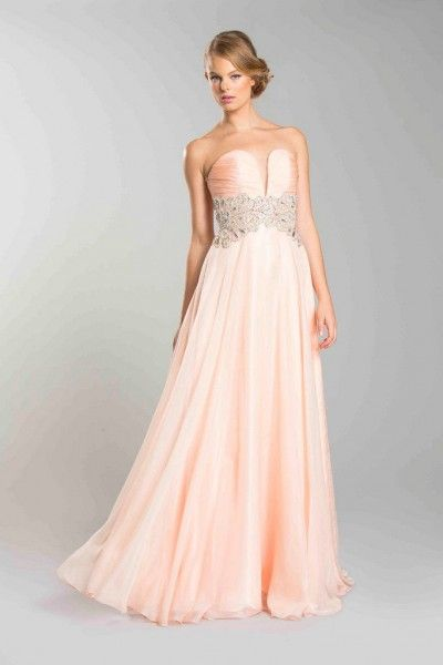 Homecoming Strapless Deep Sweetheart Rouching Sequin Design Waist Sheer Overlay Bridesmaids