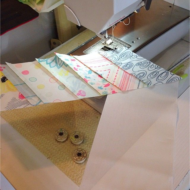 Piecing 60* angles is fun! | #RaptureCollection #sewing #quilt #quiltmarket #patbravo
