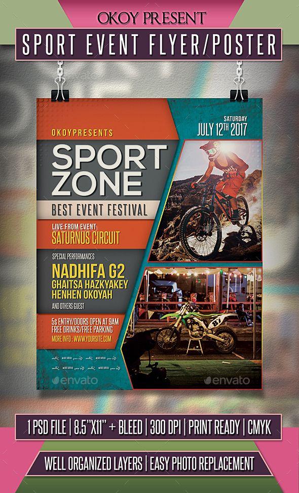 Sporting event flyer tempalte erkalnathandedecker sport event flyer poster event flyers template and flyer template maxwellsz