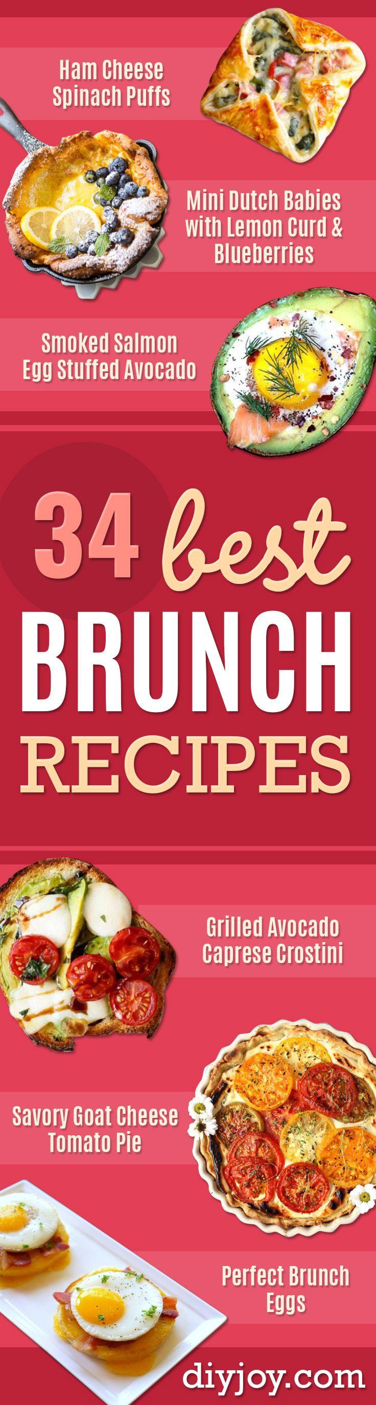 Best Brunch Recipes  Eggs, Pancakes, Waffles, Casseroles, Vegetable Dishes