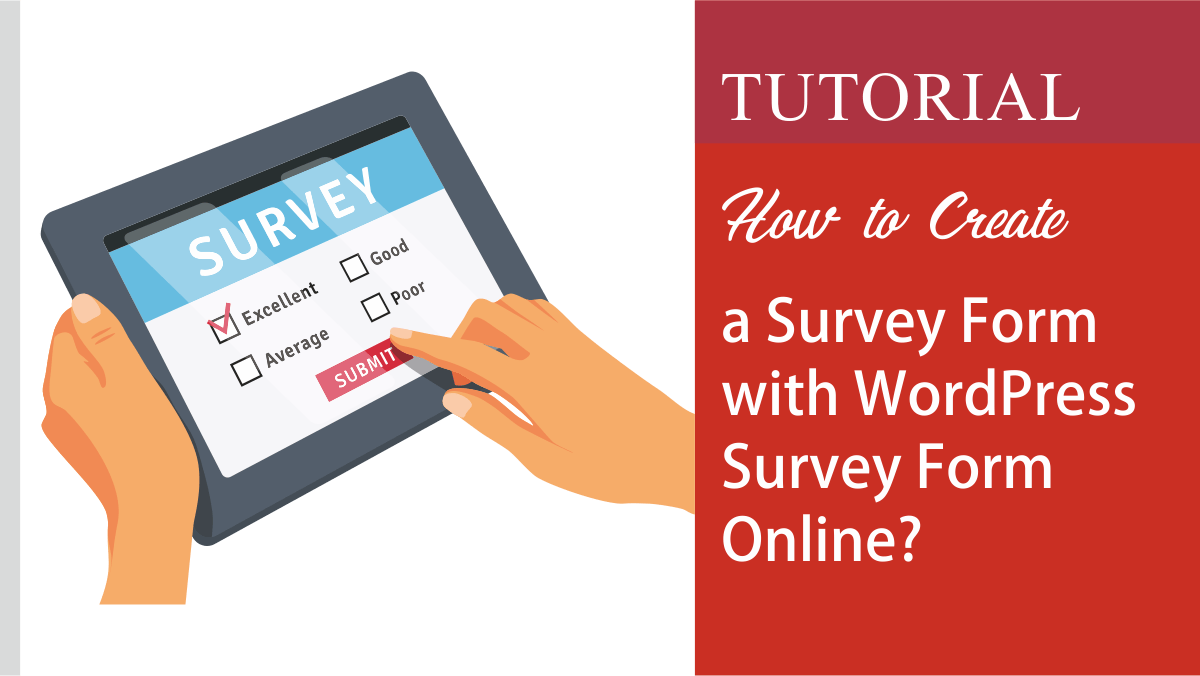 How to create a survey online form in 2020 Create a