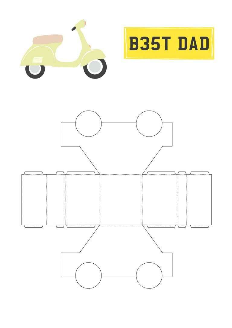 It's just a graphic of Magic Car Template Printable