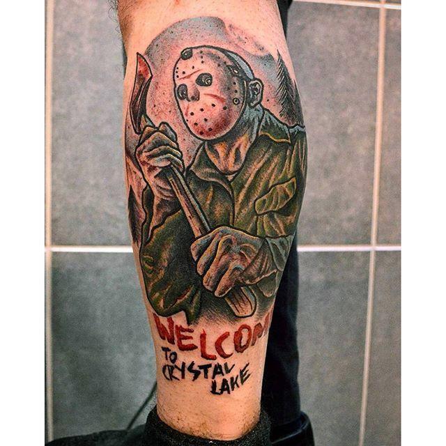 Friday 13 jason movie tattoo | Friday the 13th Tattoos