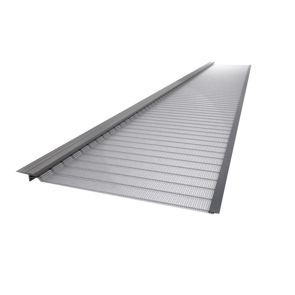 Gutter Guard By Gutterglove 4 Ft L X 5 In W Stainless Steel Micro Mesh Gutter Guard 10 Pack Thd40 The Home Depot Gutter Guard Gutter Gutter Protection