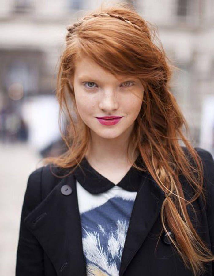 Coupe cheveux epais visage rond