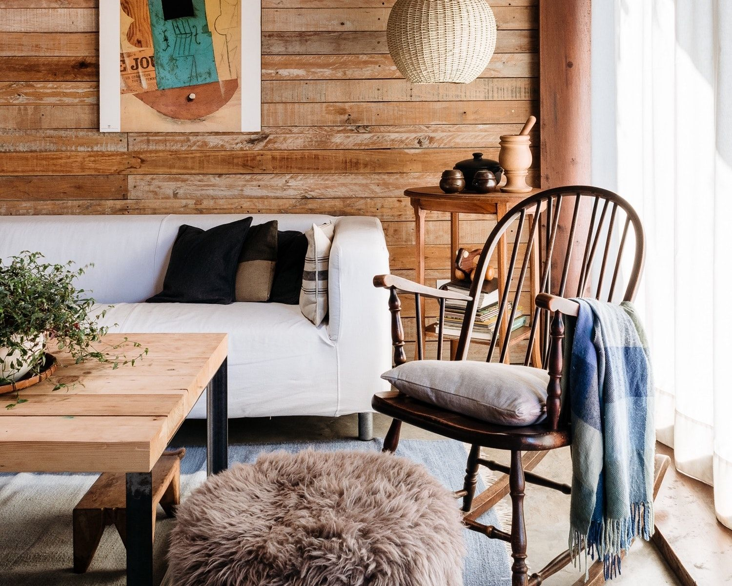 An architects beautifully boho rustic modern home in buenos aires house tour