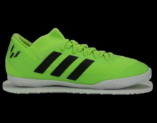 3cec8141fc1bb0 adidas Kids Nemeziz Messi Tango Indoor Soccer Shoes Solar Green Core Black
