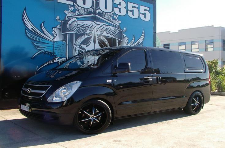 Hyundai Iload Rims Mag Wheels Hyundai Black Chrome Wheels Touring