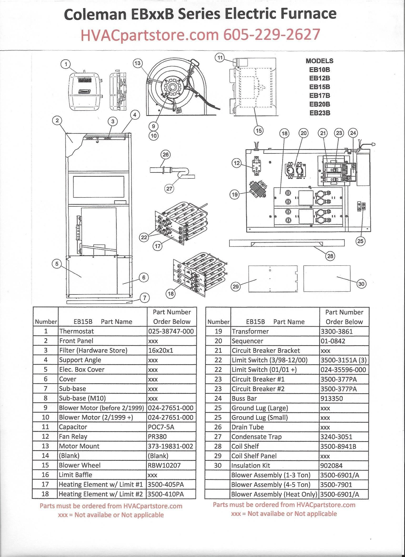 New Coleman Furnace Wiring Diagram In