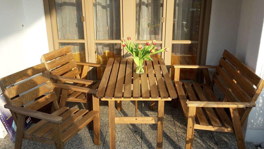 gartensitzgarnitur gartenmöbel garten sitzgruppe kiefer, Garten Ideen