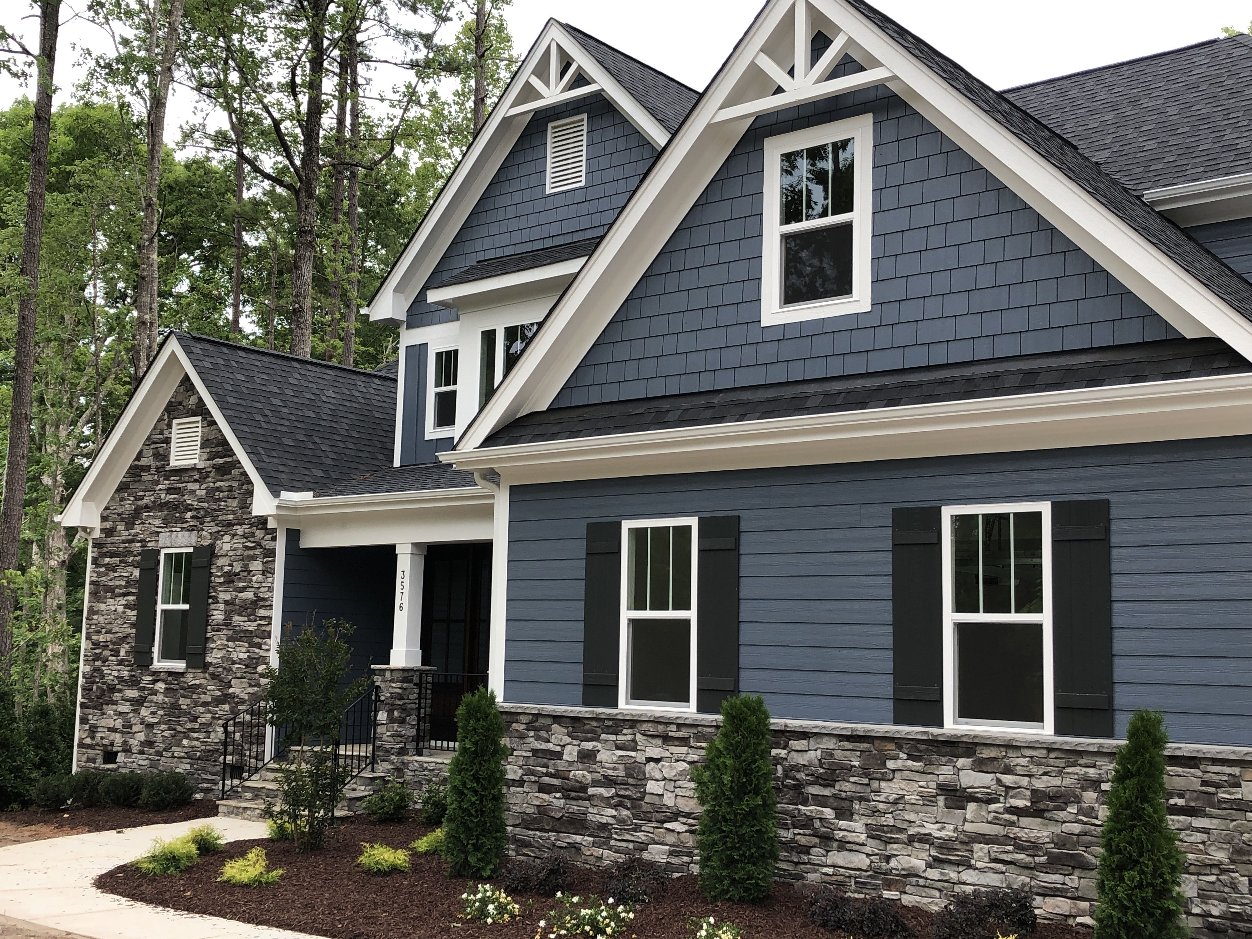 Blue Grey Exterior Paint Sherwin Williams Granite Peak In 2020 House Exterior Blue Outside House Colors Outside House Paint,Best Artificial Christmas Trees