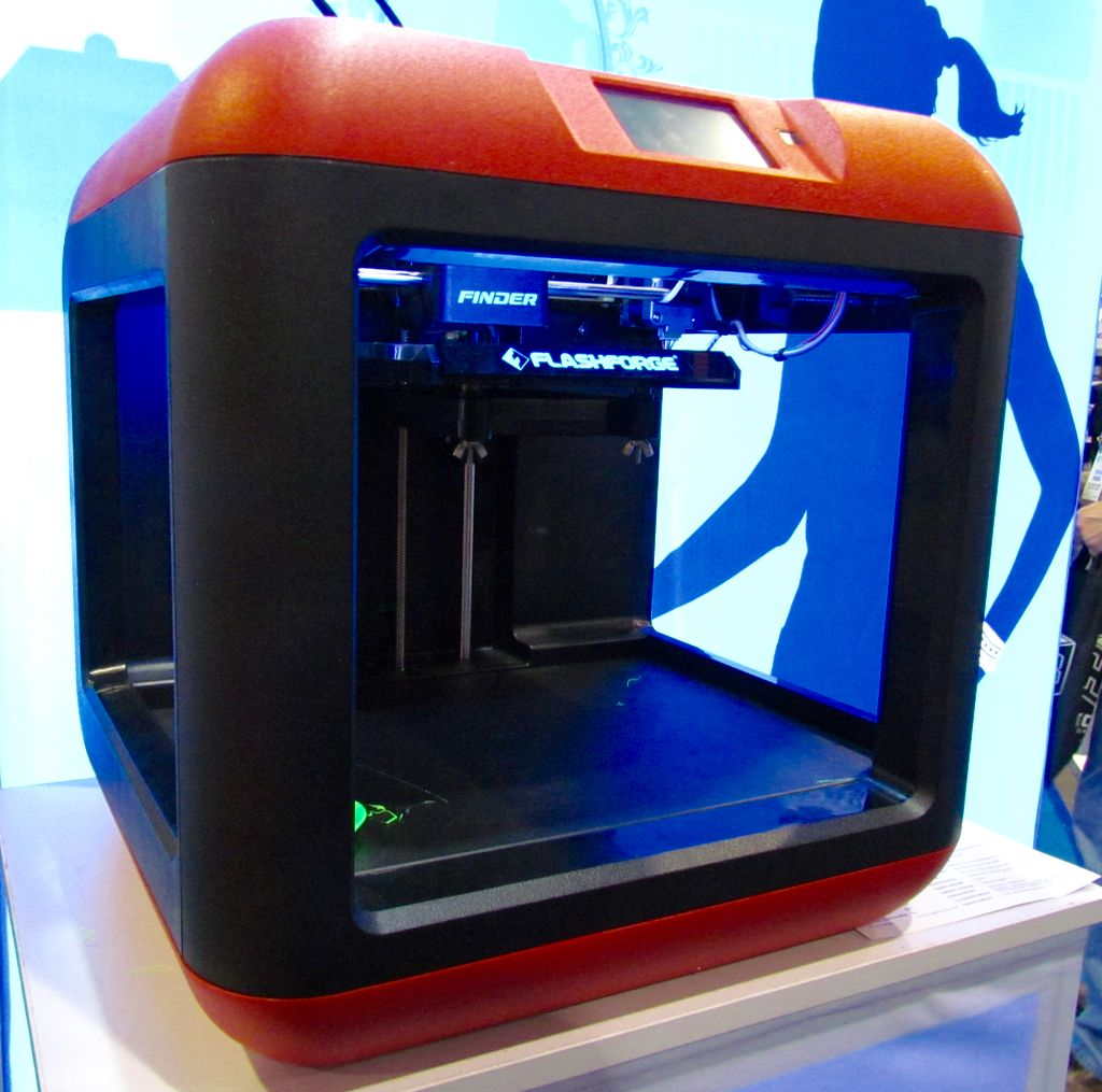 Flashforge's Entry Level Finder 3D Printer #3DPrinting