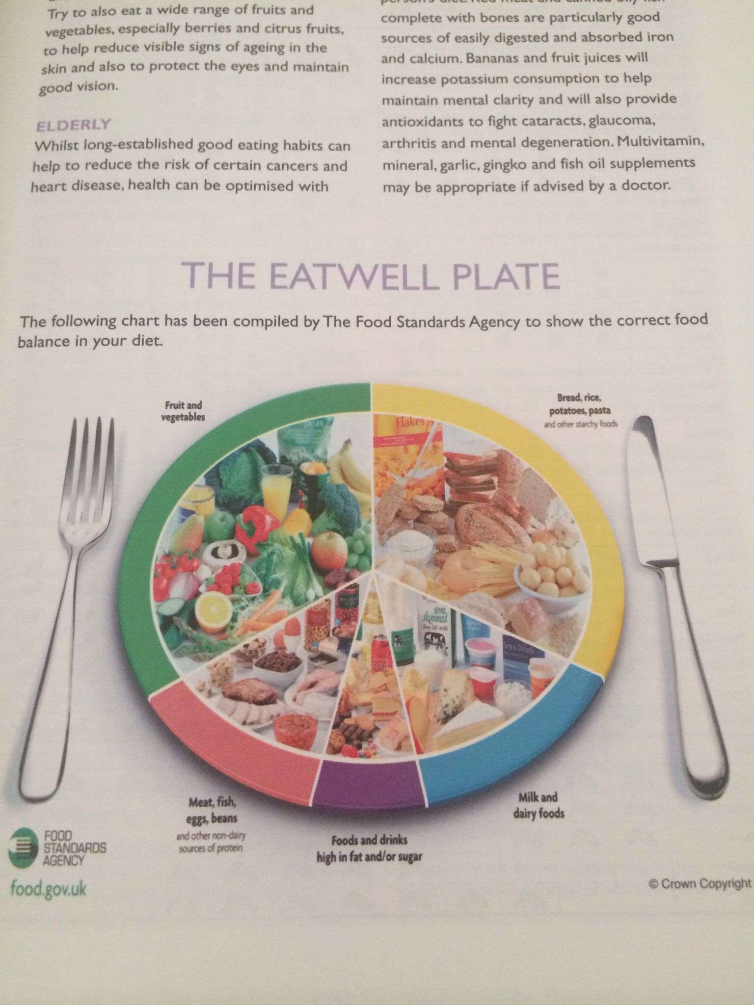 The Eatwell Plate   Eat, Healthy, Food
