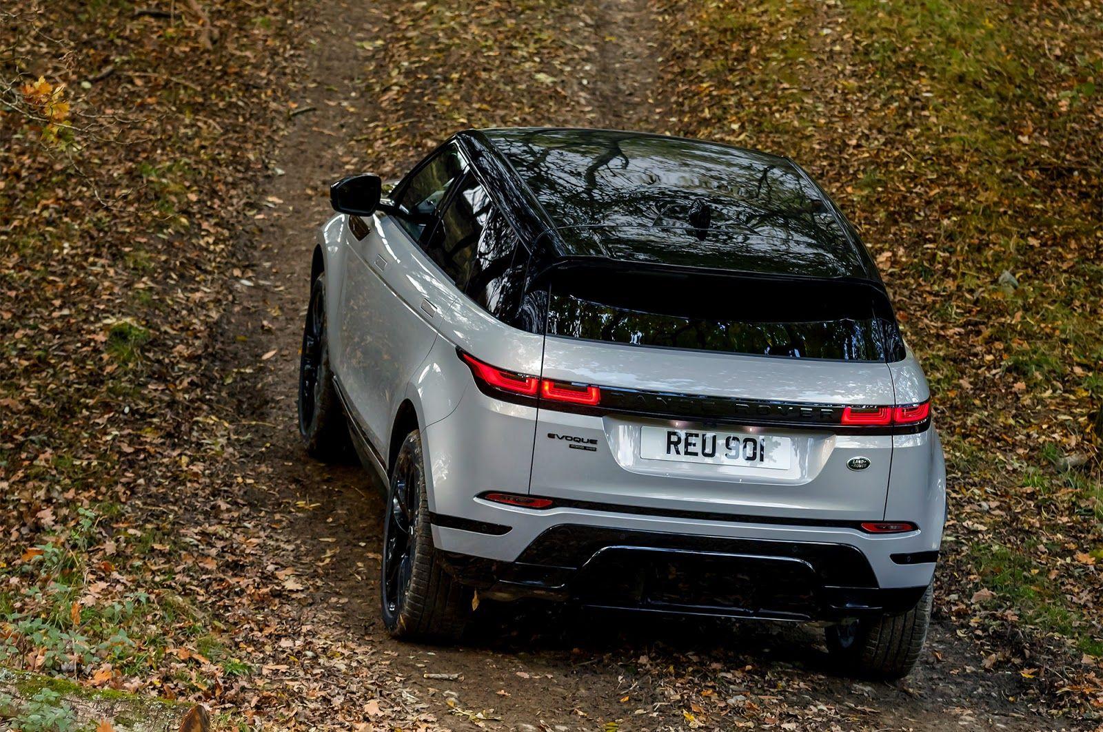 Range Rover Evoque (2019). Дотянуться до Velar'а...