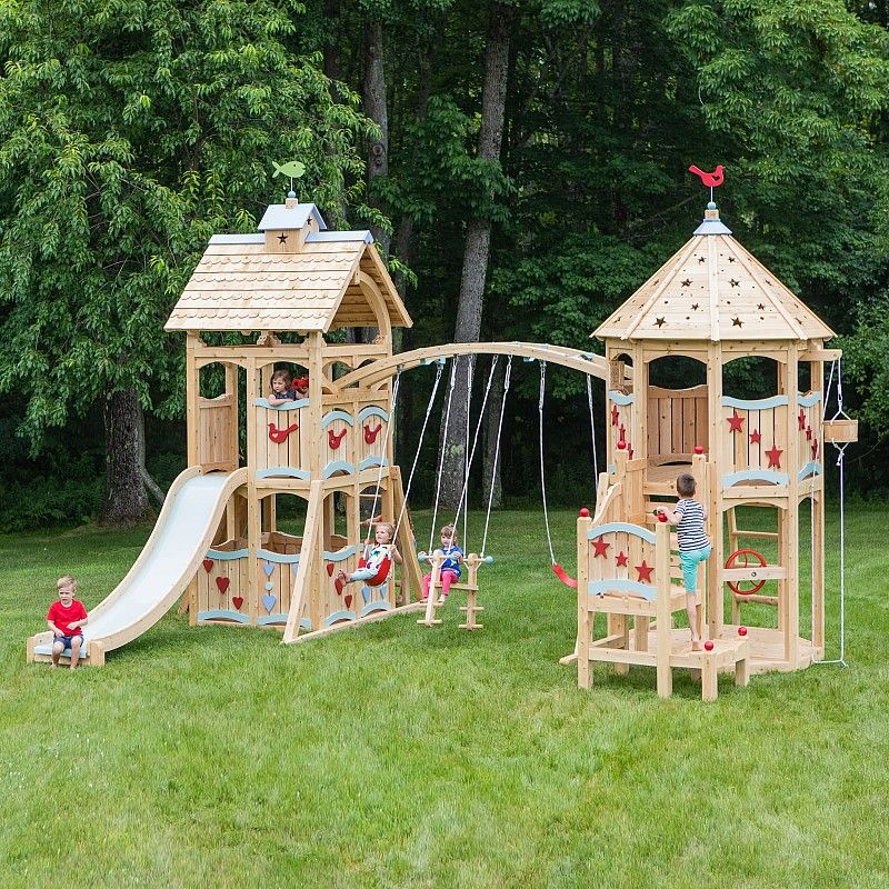Swing Sets Playsets Playhouses Indoor Playsets And Playbeds Cedarworks Playsets Play Houses Swing Set Playset