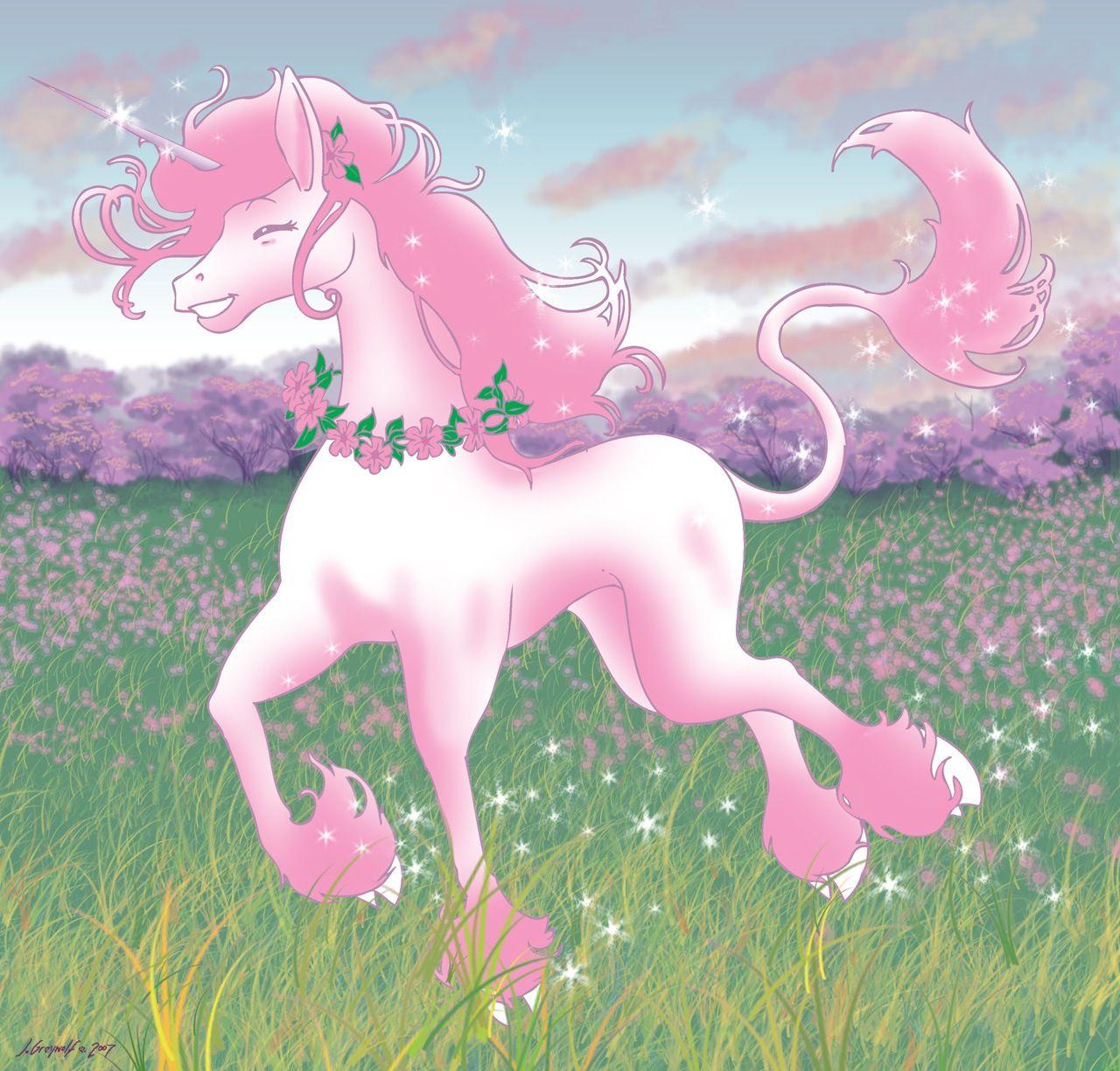 Pink Fluffy Unicorns Dancing On Rainbows Unicorn Pictures Unicorn Photos Unicorn
