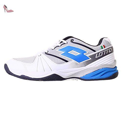 Lotto Esosphere Alr, Chaussures de Tennis Homme, Multicolore-Plateado /  Azul (Slv Mt / Atlant), 43 EU: Amazon.fr: Chaussures et Sacs