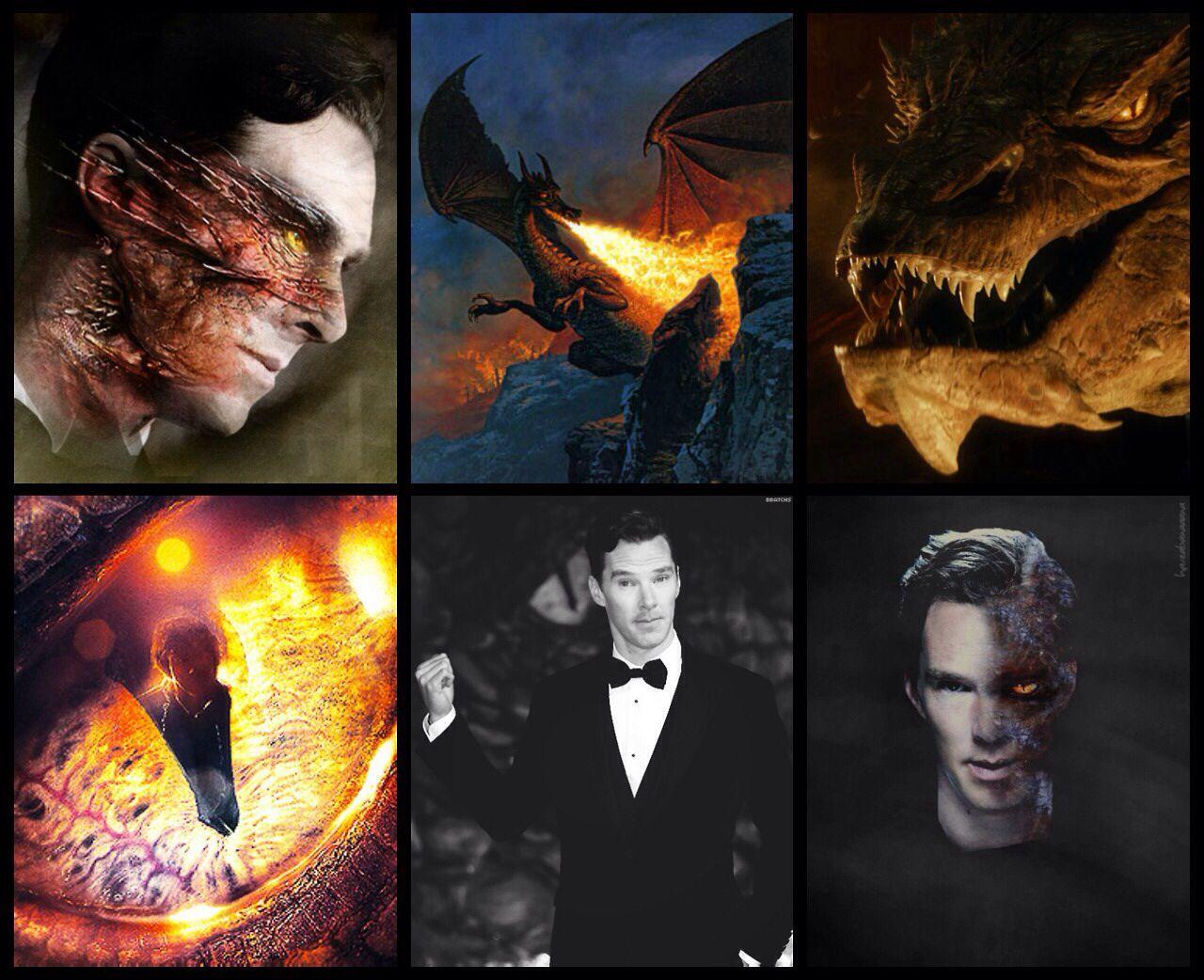 Benedict- Smaug/Necromancer | The hobbit movies, The ...