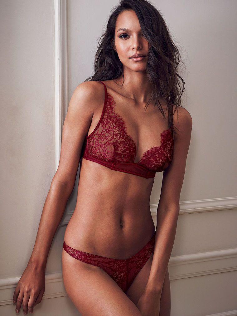 020810e7328ab Lace Triangle Bralette - Very Sexy - Victoria s Secret