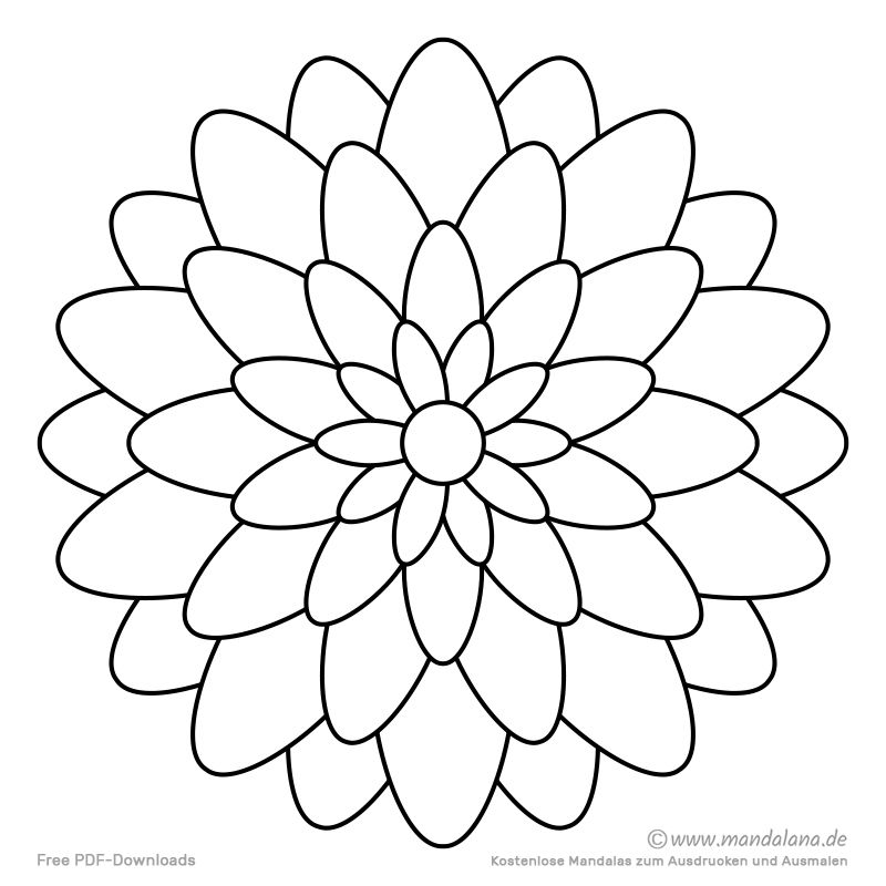 Mandala Malvorlagen Einfache Formen Zum Ausmalen Mandalas Zum Ausmalen Mandala Malvorlagen Mandala Ausmalen