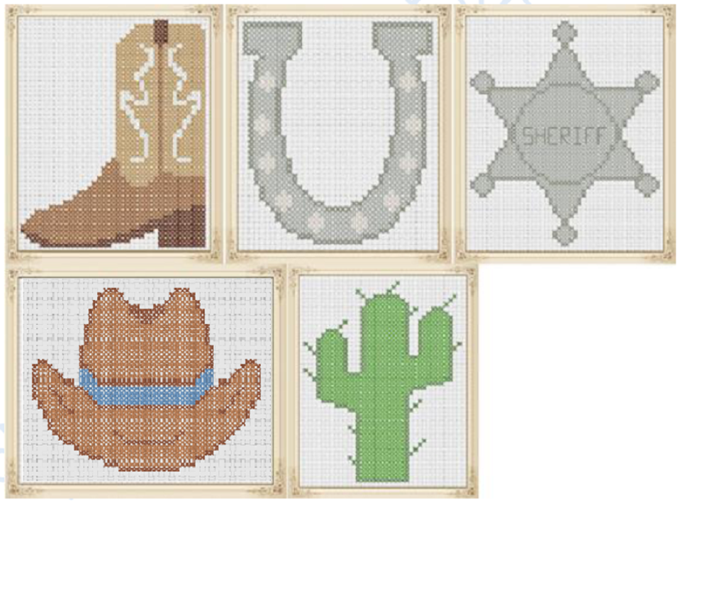 I wanna be a cowboy counted cross stitch pinterest cowboy boots