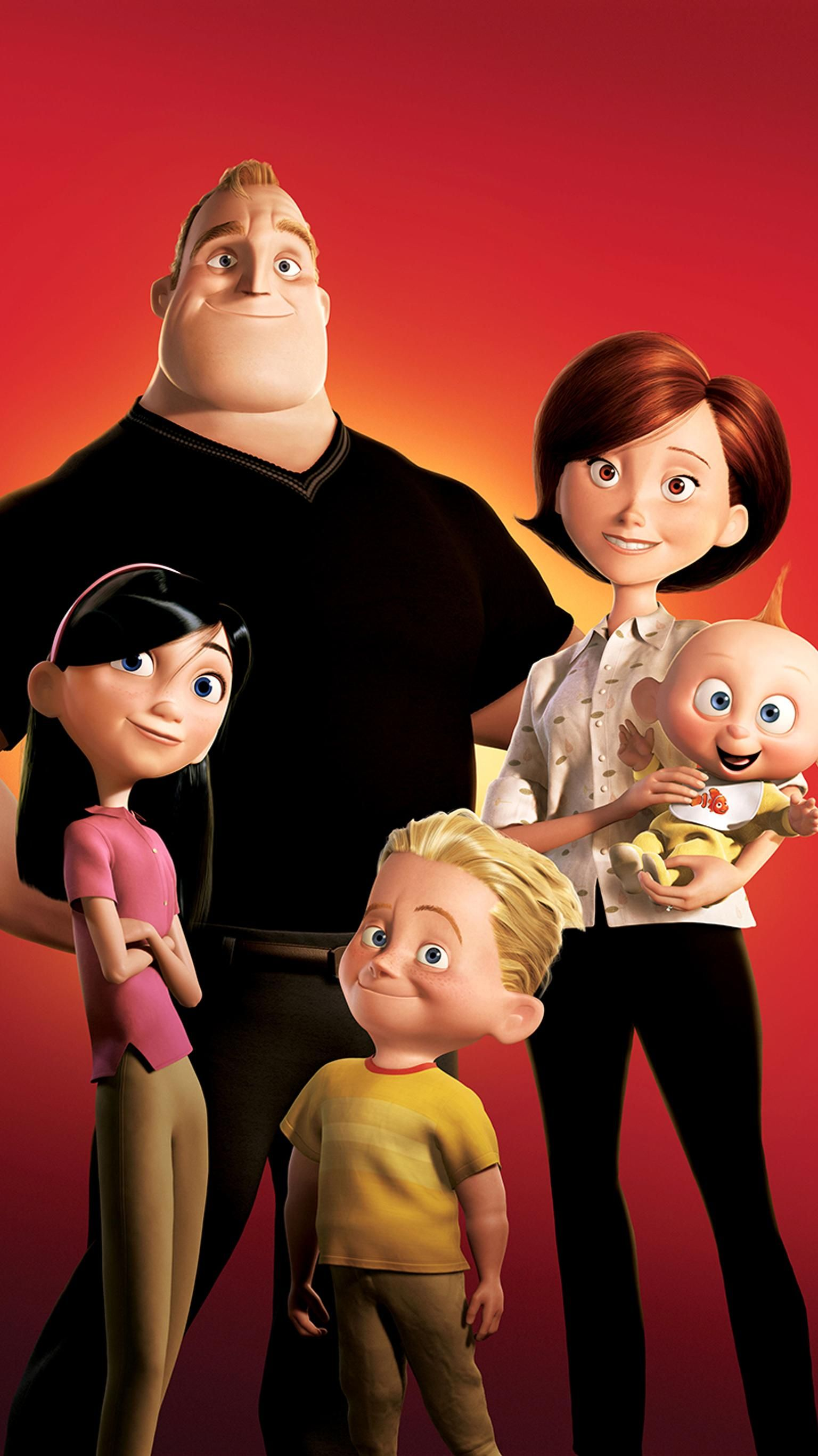 The Incredibles 2004 Phone Wallpaper Moviemania The Incredibles 2004 The Incredibles Animated Movies