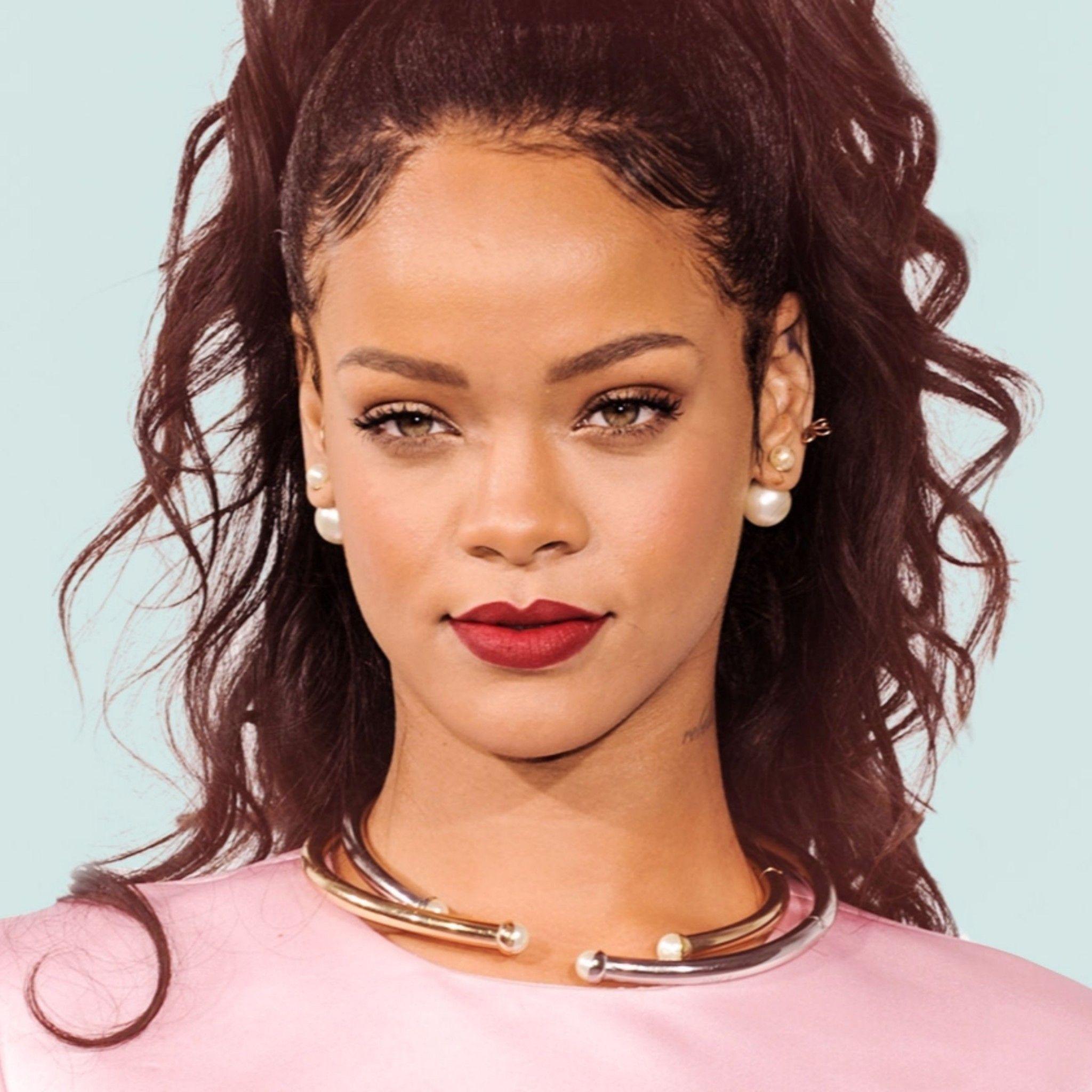 rihanna wallpaper iphone 633033 Rihanna, Peinados y