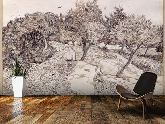 Famous paintings fine art wall murals wallpaper wallsauce