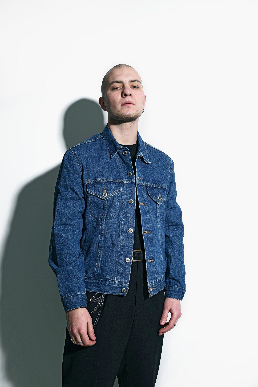 Vintage Denim Jacket For Men In Dark Blue Wash Old School Etsy In 2021 Vintage Denim Jacket Denim Jacket Denim Jacket Men [ 3000 x 2000 Pixel ]
