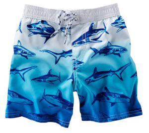 5d7aceb1899af Summer Fashion Cotton Cargo Shorts Ombre Shark Swim Trunks Mens Three  Quarter Cargo Shorts