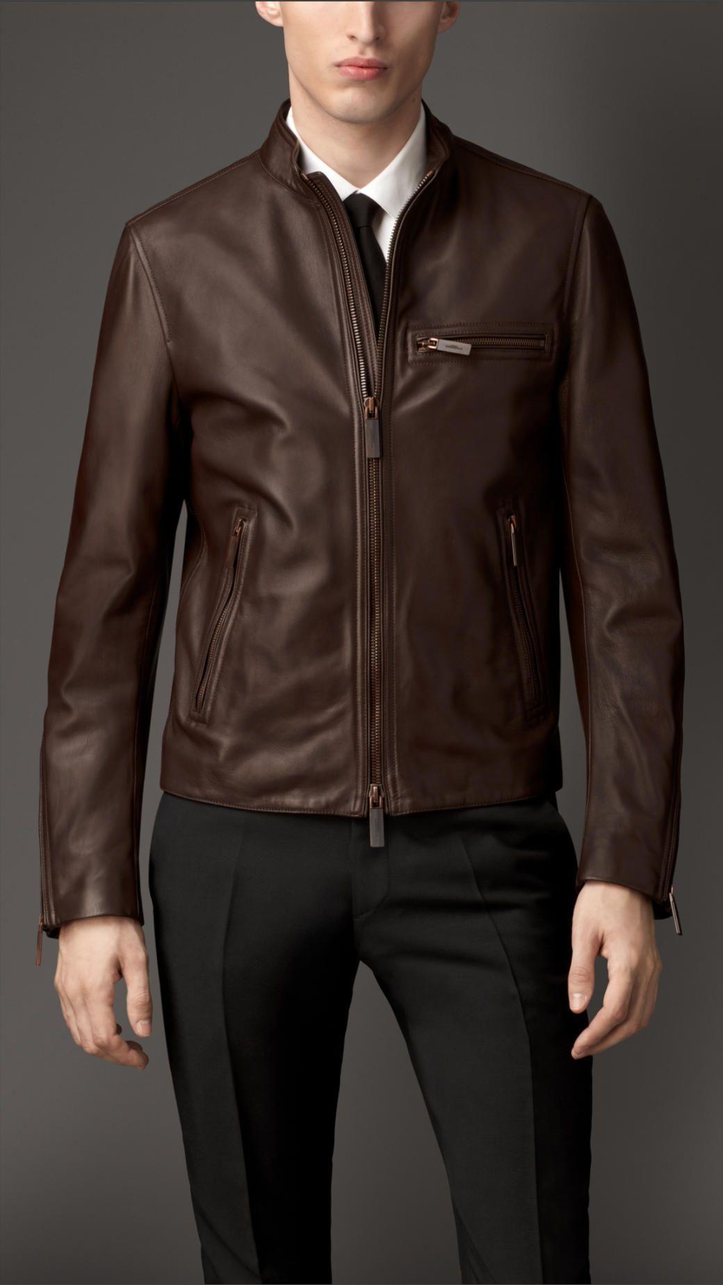 Men S Jackets Leather Bomber Jackets Burberry Official Leather Jacket Men Leather Jacket Leather Jacket Men Style [ 1849 x 1040 Pixel ]