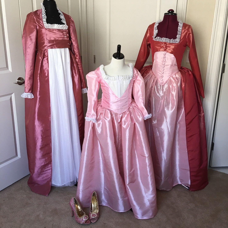 Angelica Schuyler Dress; Hamilton Dress; Poldark Dress; Hamilton ...